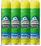 Scrubbing Bubbles Lemon Foaming Bathroom Cleaner 25 oz, 4 Pack, New!!!