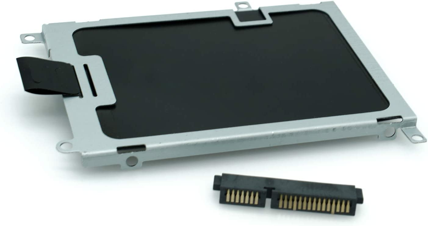 New SATA Hard Drive Caddy SSD Bracket Bay with HDD Connector Adapter for Dell Latitude E6220 E6230 E6420 T3YV6 Y5GVV