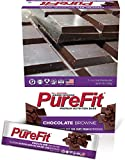 PureFit Gluten-Free Nutrition Bars with 18 grams Protein: Chocolate Brownie, 2 oz Bars, Pack of 15 For Sale