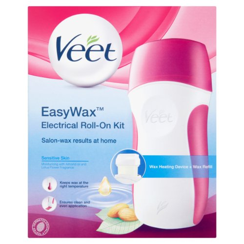 Veet Easy Wax Sensitive Electrical Roll-On Kit by RB