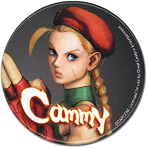 """Great Eastern Entertainment Street Fighter IV Cammy Button, 2"""""""