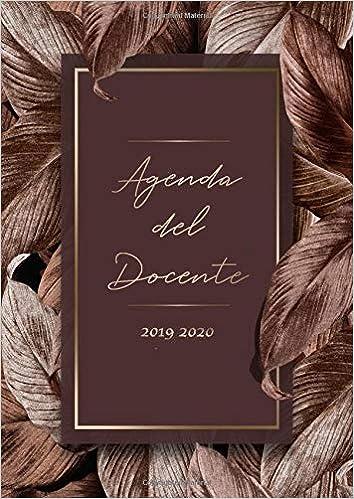 Agenda del Docente 2019 2020: Agenda Scolastica - Registro ...