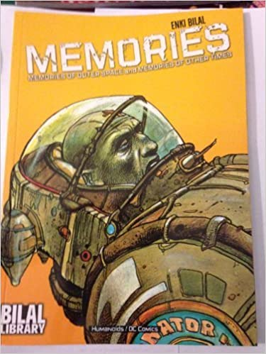 Book Bilal Library: Memories by Enki Bilal (2005-05-01)