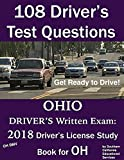 108 Driver's Test Questions for OHIO BMV Written Exam: Your 2018 OH Drivers Permit/License Study Book