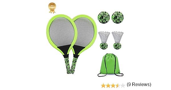 KiraKira Raquetas para niños, Raquetas de Tenis niño,Raqueta de ...