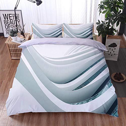 HOOMORE Bed Comforter - 3-Piece Duvet -All Season, Galaxy Soho Beijing,HypoallergenicDuvet-MachineWashable -Twin-Full-Queen-King-Home-Hotel -School - Soho Platform Bed Twin