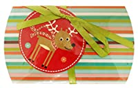 The Gift Wrap Company Holiday Gift Card Pouch, Funny Little Reinies