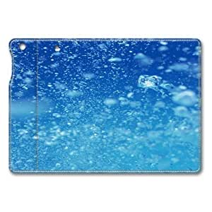 Air In Water Standing Leather Smart Cover Case Exclusive for iPad Mini Screen