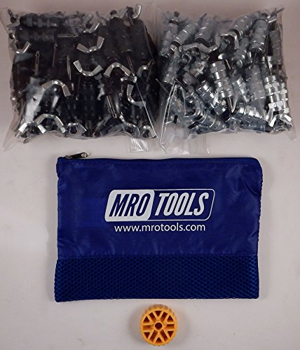 50 5/32 & 50 3/32 Standard Wing-Nut Cleco Fastener HBHT Tool & Bag (KWN4S100-6) by MRO Tools Cleco Fasteners