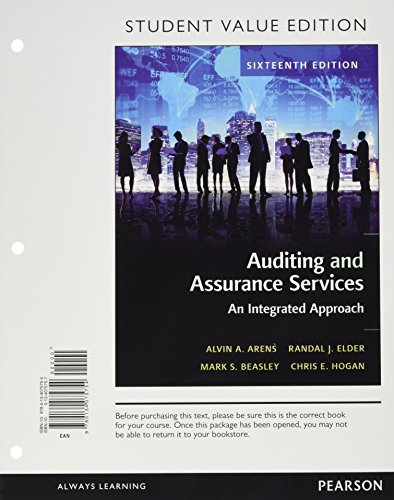 Auditing+Assurance Services (Loose)