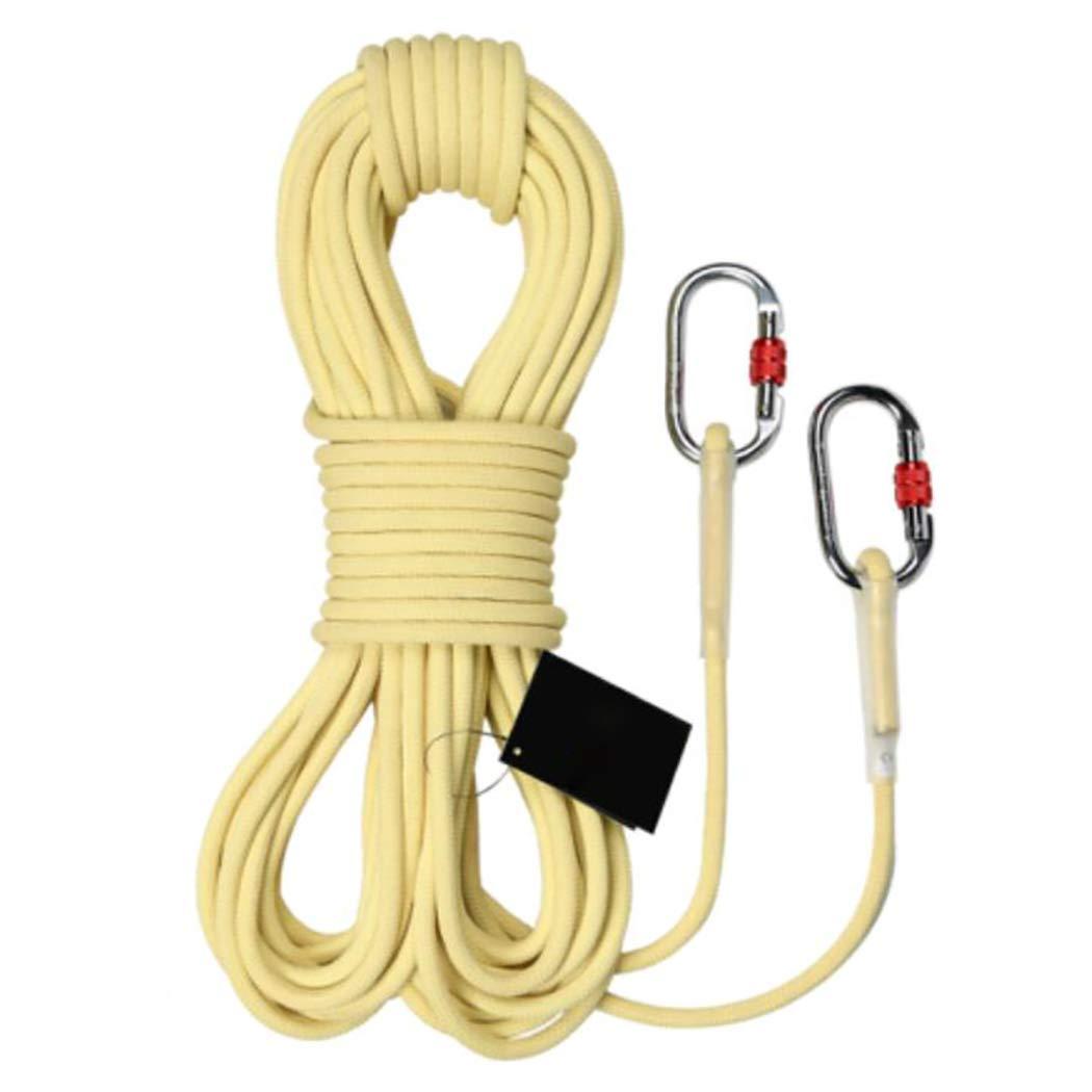 本物の HSBAIS 15m(49ft) アウトドア 10.5 クライミングロープ ザイルガイロープ 安全 10.5 mm、プロ 高強度 高強度 アクセサリー、カラビナ、登山 キャンプ 防災 B07QRQVJNZ 15m(49ft), リズム(ブランド&ジュエリー):18d9eae7 --- a0267596.xsph.ru