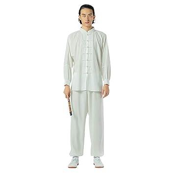 KSUA Uniforme de Tai Chi para Hombres Trajes de Artes Marciales de ...