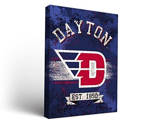 University Of Dayton Flyers Canvas Wall Art Banner Design