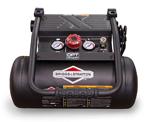 Best Prices! Briggs & Stratton 4-Gallon Quiet Power Technology Air Compressor 074060-00