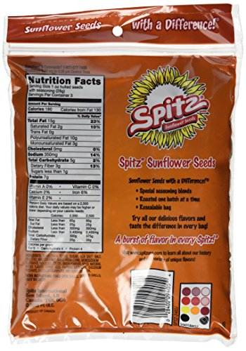 Spitz Smoky BBQ Sunflower Seeds 6oz (Pack of 12) by Spitz (Image #5)