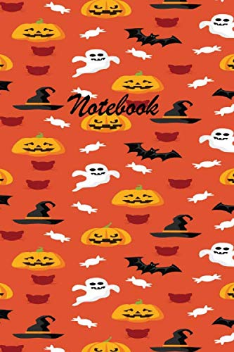 Halloween Table Topics (Notebook: These Halloween beautiful 6 x 9 Composition Notebook 190-page Journal books are lined to standard wide-ruled margins with a table of ... of each topic.Ghost Bat Halloween Book)