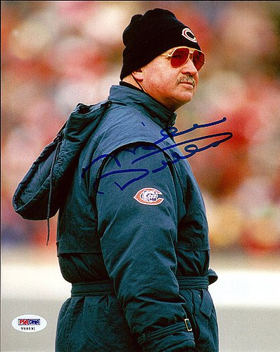 Mike Ditka Signed 8x10 Photo Chicago Bears - PSA/DNA Authentication - Autographed NFL Football Photos
