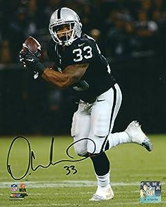 Autographed DeAndre Washington 8x10 Oakland Raiders Photo