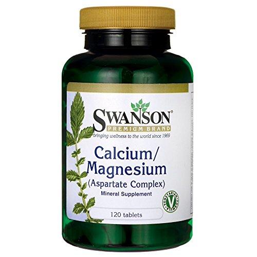 Swanson Calcium/Magnesium (Aspartate Complex) 120 Tabs