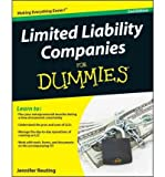 img - for [(Limited Liability Companies For Dummies )] [Author: Jennifer Reuting] [Jan-2011] book / textbook / text book