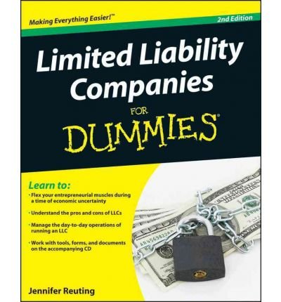 [(Limited Liability Companies For Dummies )] [Author: Jennifer Reuting] [Jan-2011]
