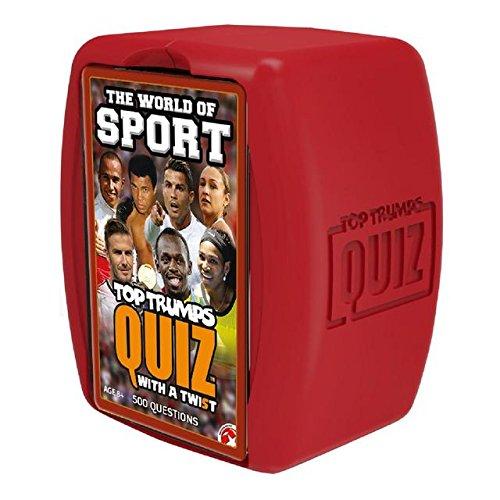 Mundo de deporte Top Trumps Quiz Game