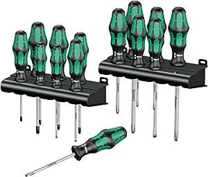 Wera 05105630001 - Kraftform Big Pack 300, 16 piezas