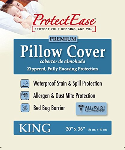 ProtectEase Premium Waterproof Allergy Protector product image