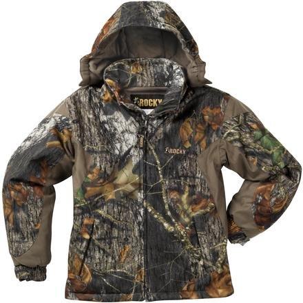 a7e65812de4ed Amazon.com: Rocky Boys Pro Hunter Full Zip Insulated Parka (Realtree AP,  Large): Clothing