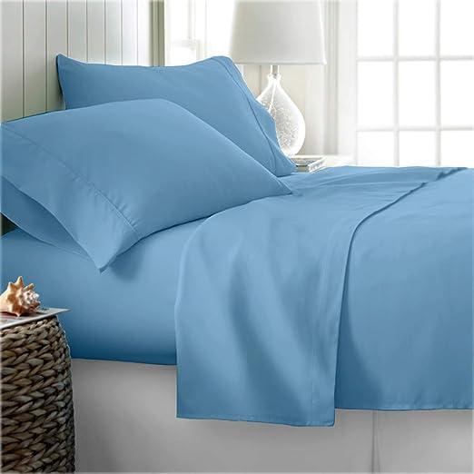 Orange Solid All Sizes Complete Bedding Set Choose Sizes 1000 TC Egyptian Cotton
