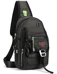 Sling Bag Chest Shoulder Backpack Crossbody Bags For iPad Tablet Outdoor Hiking Men Women
