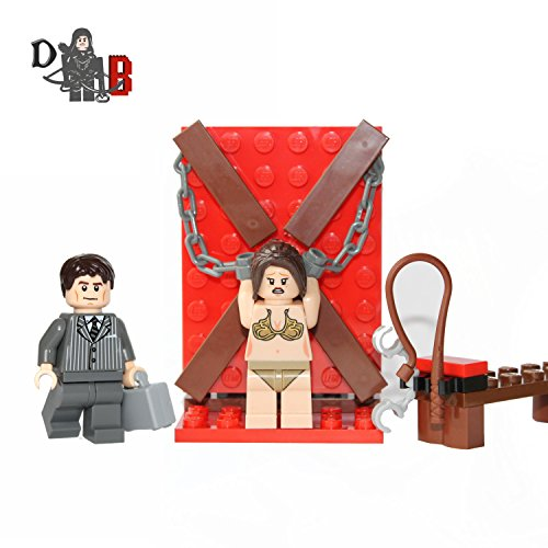 Custom Fifty Shades of Grey Mini set with Anastasia & Christian Minifigures.