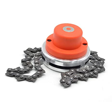 Objective Lawn Mower Trimmer Head Chain Brushcutter For Garden Grass Brush Cutter Tools Parts Gardening Tools Trimmer Head Chain Grass Trimmer