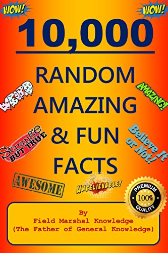 10,000 Random Amazing & Fun Facts for sale  Delivered anywhere in Canada