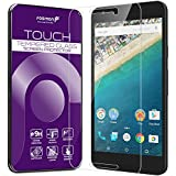 Fosmon Tempered Glass for Google Nexus 5X [1 pack] TOUCH 0.26mm [ULTRA THIN | Shatter Proof | Oleophobic Coating] HD Clear Glass Screen Protector for Nexus 5X