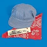 train conductor hat and whistle - Little Engineer Set - Cap, Bandanna, & Whistle