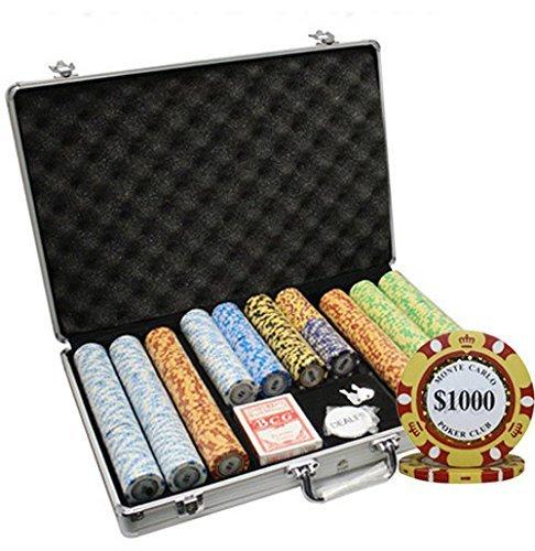 MRC Poker 650pcs Carlo 650pcs Monte Carlo Poker Clubポーカーチップセットwith Aluminumケースカスタム構築 [並行輸入品] B078S4XPQF, 博多んもんのおすすめ 食べてみ店:3fe38bc1 --- 2017.goldenesbrett.net