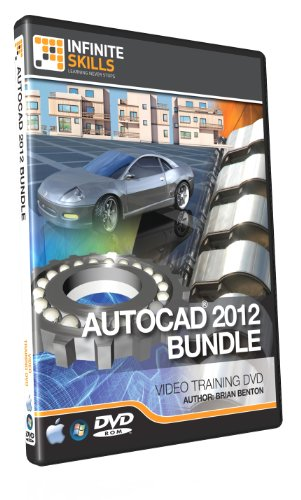 AutoCAD 2012 Training DVD - Beginners to Advanced - Discounted Bundle by Infiniteskills