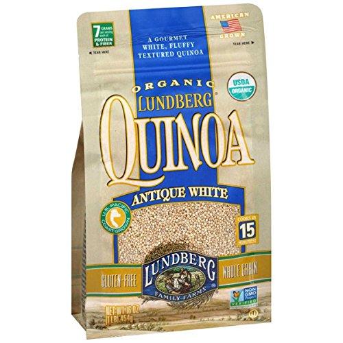 Lundberg Family Farms, Quinoa, Og2, Antique White, Pack of 6, Size - 1 LB, Quantity - 1 Case by Lundberg