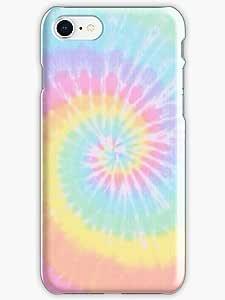 Rainbow tie dye Phone Case for Iphone 8