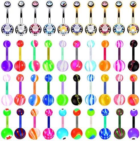 BodyJ4You Acrylic Bioflex Piercing Jewelry product image