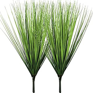 """Artificial Plants Fake Wheat Grass Plant Faux Stems Greenery Ferns for Outdoor Indoor Floral Wedding Decor 23.6"""" 64"""