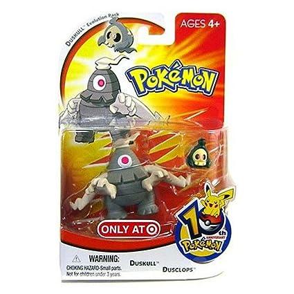 Amazoncom Pokemon Mini Action Figure Set Duskull Evolution Pack