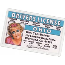 Mimi Coco Bobeck of the DREW CAREY Show Novelty Drivers License / Fake I.d. Identification for Cleveland Ohio OH fans by Signs4Fun