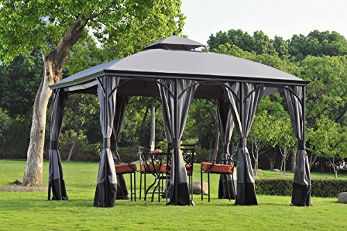 Sunjoy Replacement Curtain for SomerSet Gazebo -  110109128