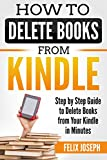 HOW TO DELETE BOOKS FROM MY KINDLE DEVICE