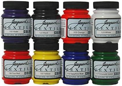 Jacquard pigmentos textil color 8 de colores Tela Dye aerógrafo Spray de pintura