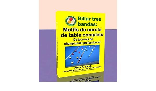 Billar tres bandas - Motifs de cercle de table complets: De tournois de championnat professionnel (French Edition) eBook: Sand, Allan: Amazon.es: Tienda Kindle