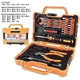 DRILLFORCE 47Pcs in 1 Household Maintenance Tool Kit Screwdriver Set