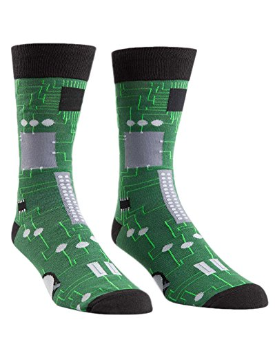 Circuit Board Mens Socks